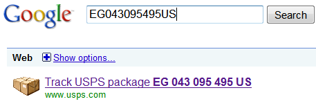 Google-Track-USPS-Package